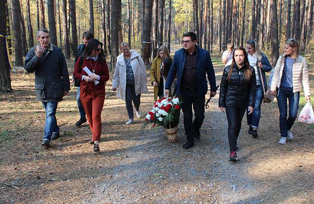 Objazd polskich miejsc pamięci – polski Cmentarz Wojenny w Bykowni