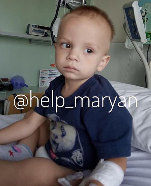 Rozpoczęto walkę o życie małego Marianka