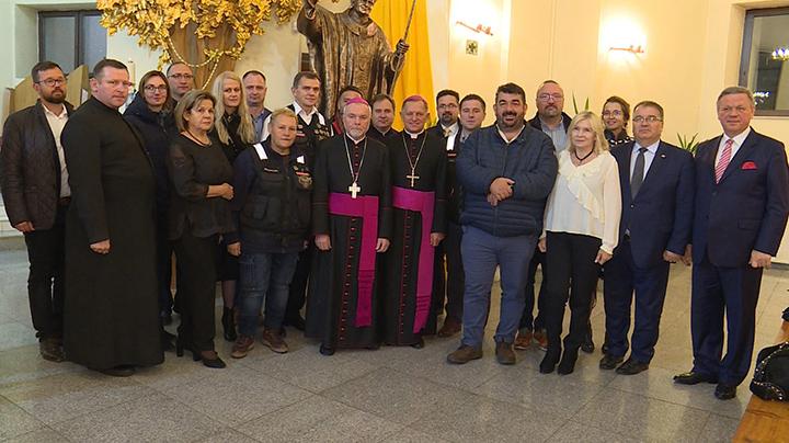 Z relikwiami św. Jana Pawła II na Syberię i Daleki Wschód