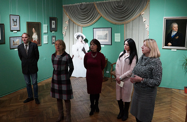 Rekonstrukcja salonu lwowskich arystokratów