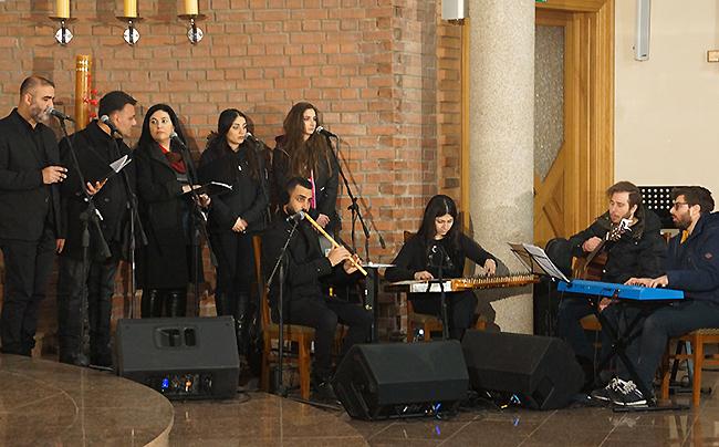 Uroczystość maronitów w kościele lwowskim