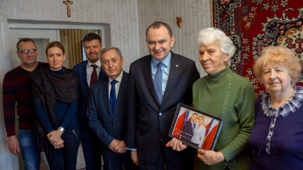 Wizyta ministra RP Adama Kwiatkowskiego na Wołyniu
