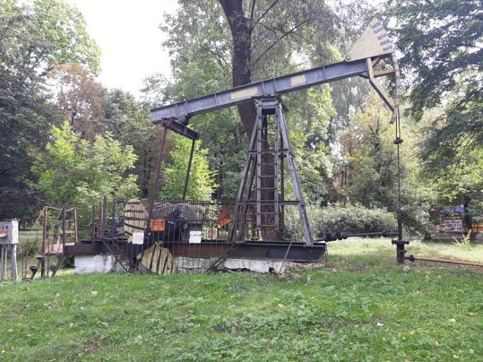 Borysław – miasto szybów naftowych