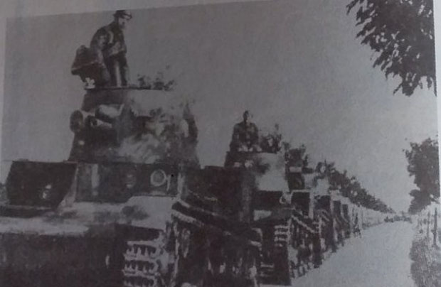 Generał Maczek w Stanisɫawowie