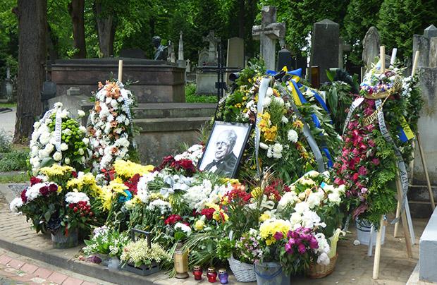 Myrosław Skoryk spoczął na Cmentarzu Łyczakowskim