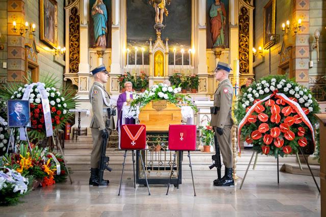 Pogrzeb Mirosława Rowickiego