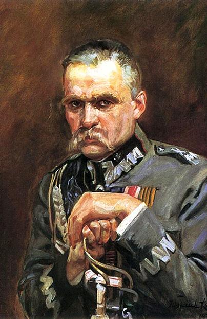 Piłsudski na Ziemi Stanisławowskiej