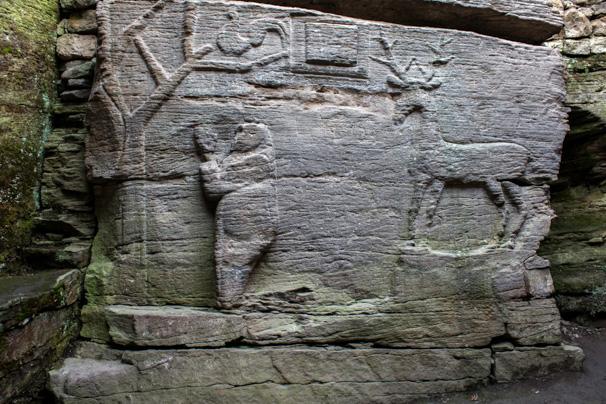 Świątynia skalna w Buszy