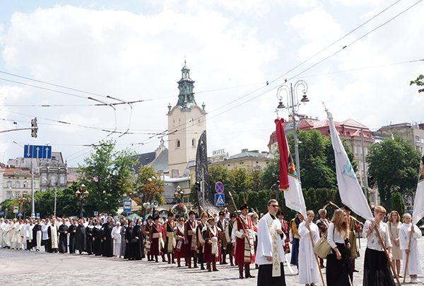 30-lecie odnowienia struktur Kościoła katolickiego na Ukrainie