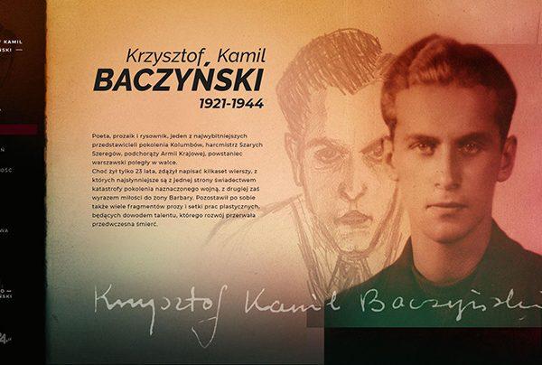 Krzysztof Kamil Baczyński w nowym serwisie internetowym portalu PolskieRadio24.pl