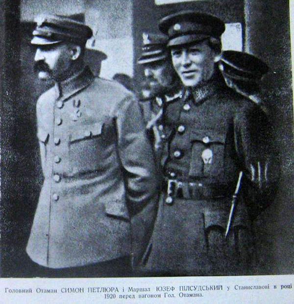 Symon Petlura w Stanisławowie