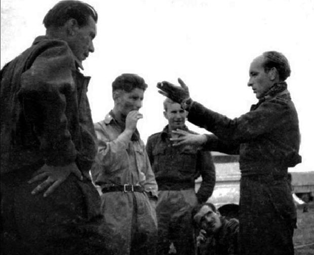 Fałszywy obraz generała brygady pilota Stanisława Skalskiego na Ukrainie