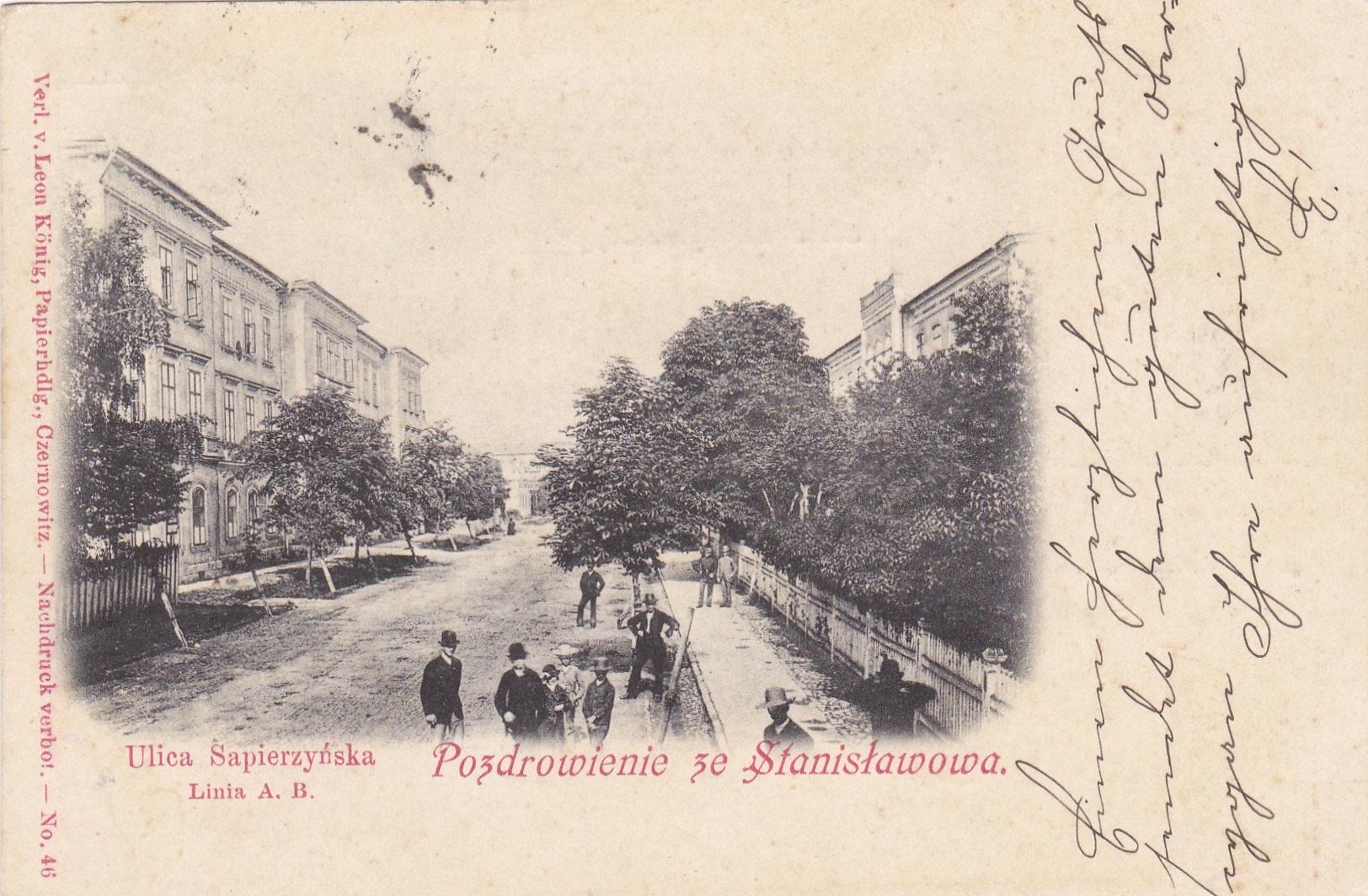 Seria pocztówek pana Königa