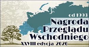 Nagroda Przeglądu Wschodniego. XXVII edycja za rok 2019