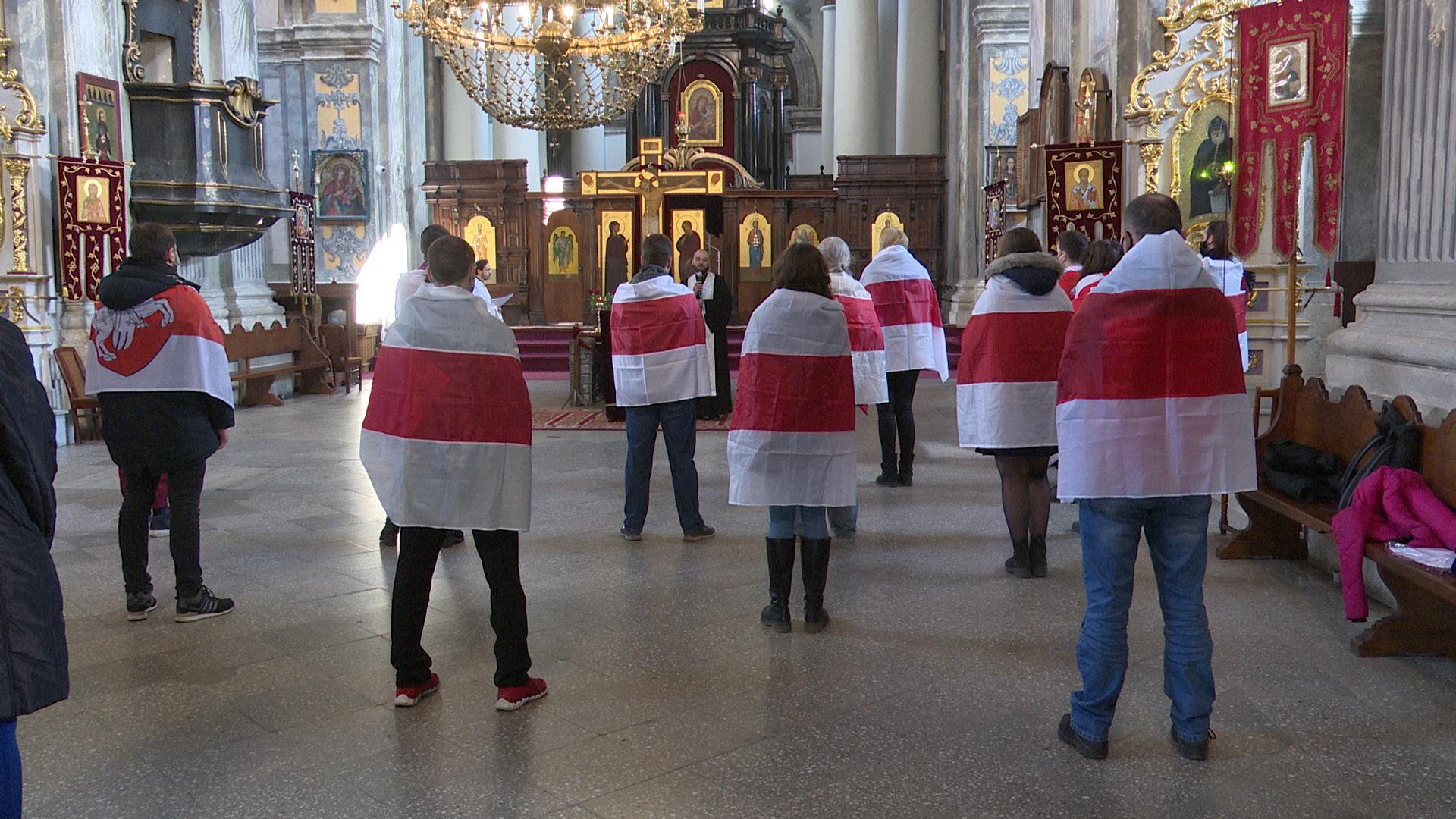 Obchody Dnia Wolności Białorusi we Lwowie