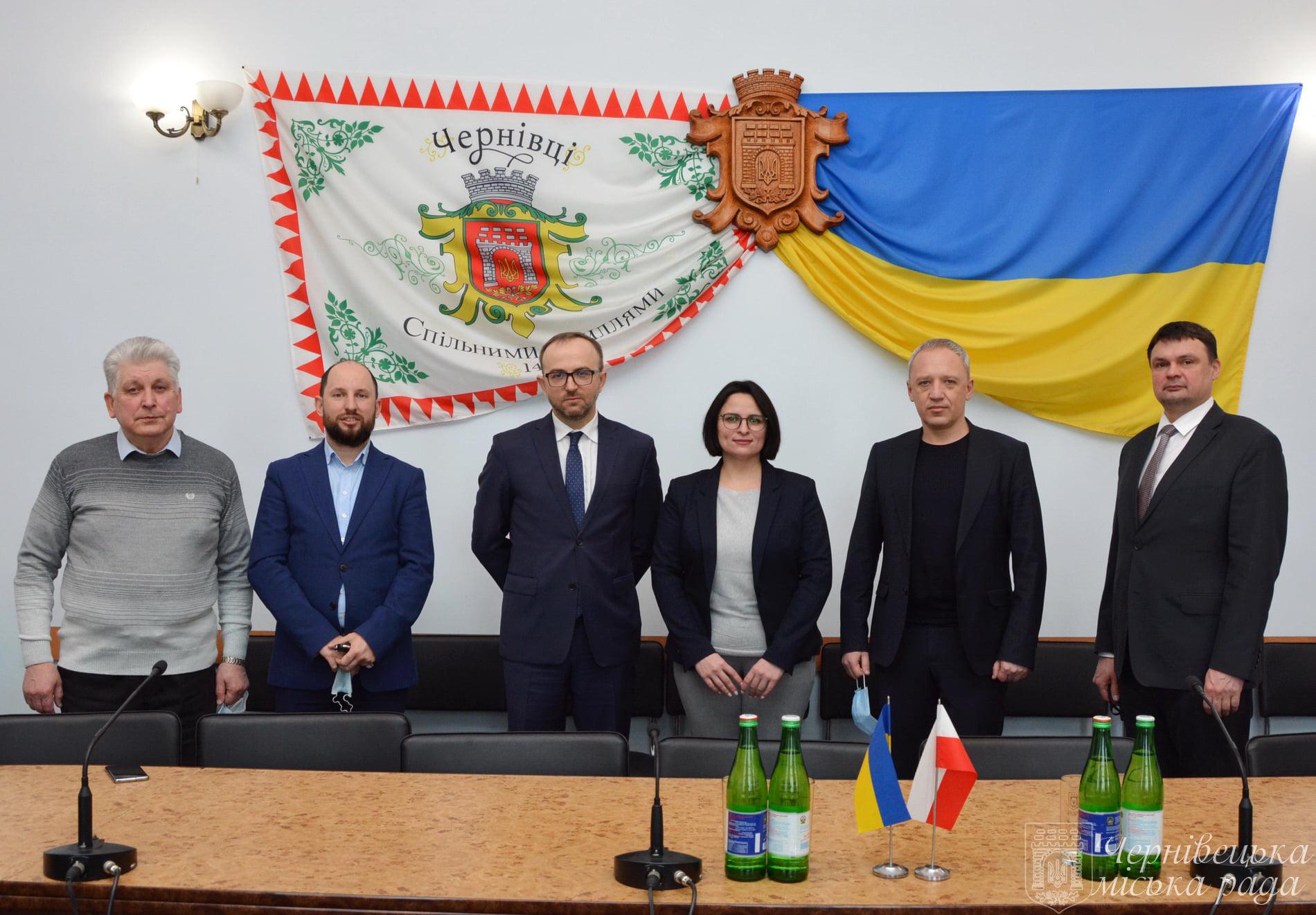 Czerniowce: Spotkanie konsula Ciarcińskiego z władzami lokalnymi