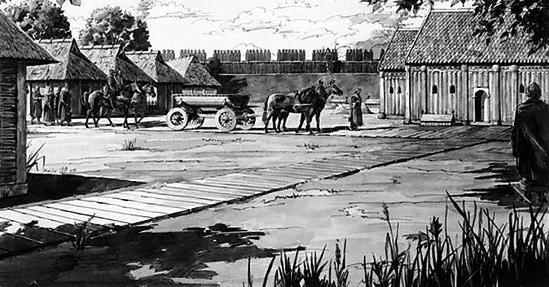 Średniowieczne szlaki handlowe