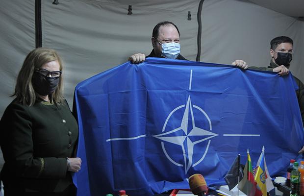 Marszałek Małgorzata Gosiewska na Ukrainie: NIE dla obecnej polityki Putina