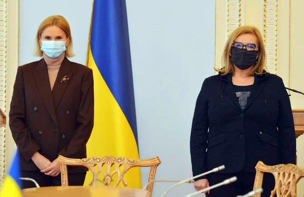 Zastępca przewodniczącego Rady Najwyższej Ukrainy Ołena Kondratiuk o spotkaniu z wicemarszałkiem Sejmu RP Małgorzatą Gosiewską