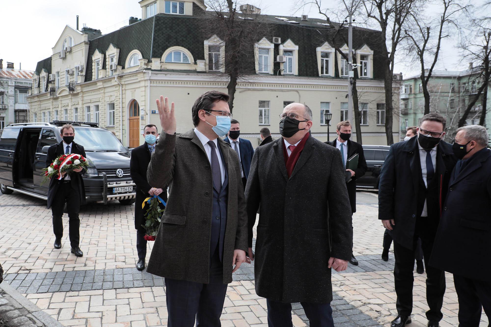 Robocza wizyta ministra spraw zagranicznych RP w Kijowie