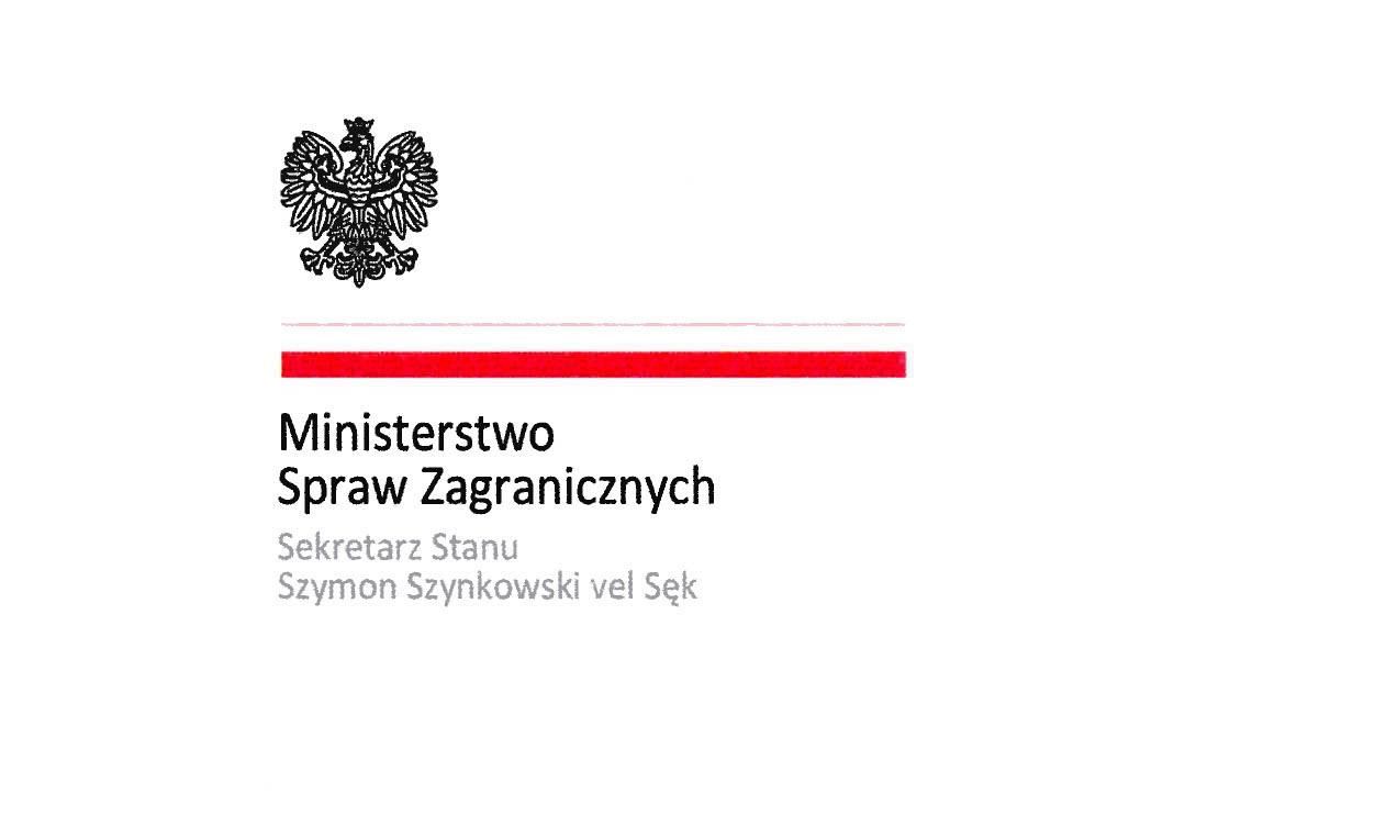Życzenia wielkanocne od sekretarza stanu Szymona Szynkowskiego vel Sęk