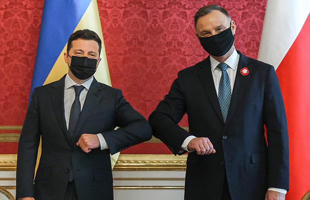 Spotkanie Prezydenta RP z Prezydentem Ukrainy