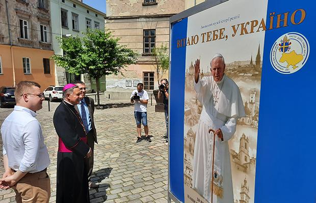 Lwów pamięta pielgrzymkę św. Jana Pawła II na Ukrainę
