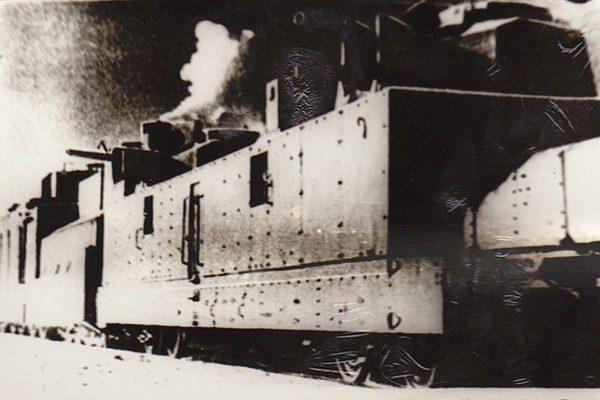 Pociąg pancerny, który służył wszystkim