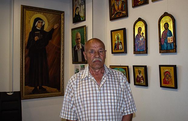 Wystawa ikon Petra Wojtaluka