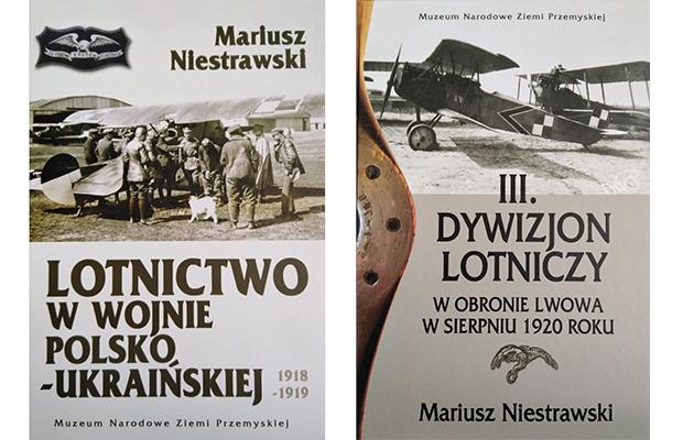 Lotnicza historia Lwowa – najnowsze książki Mariusza Niestrawskiego