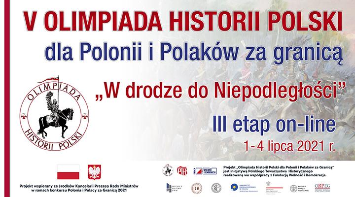 Ostatni etap V Olimpiady Historii Polski wyłonił zwycięzców