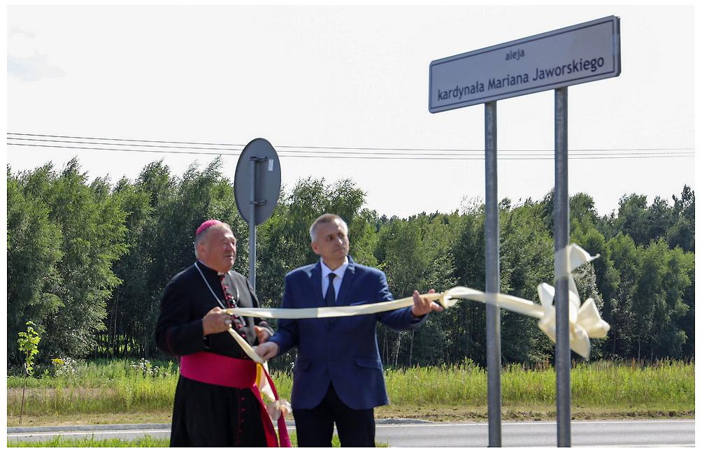 Lubaczów uczcił kardynała Mariana Jaworskiego