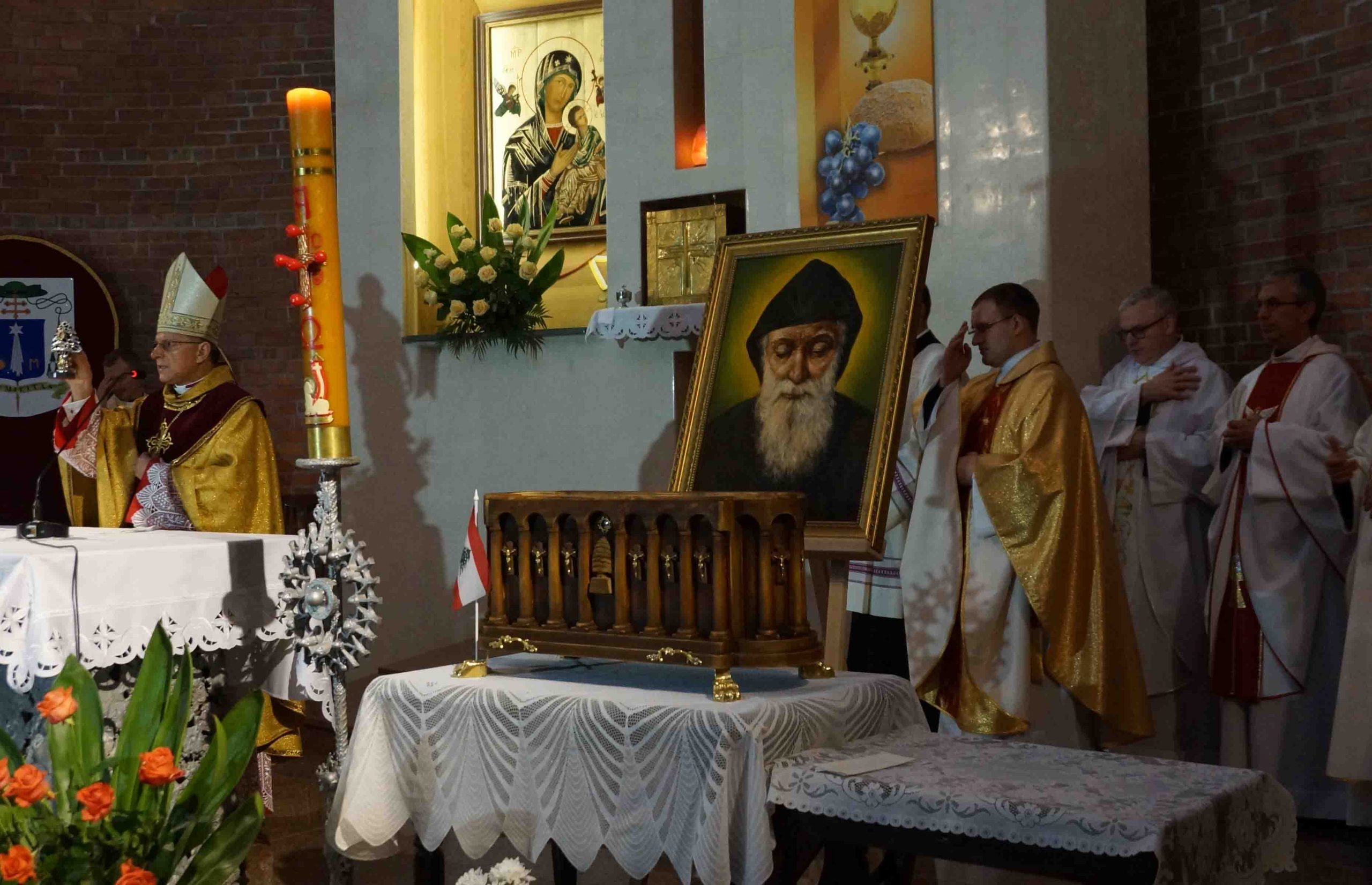 Kult św. Szarbela na Ukrainie