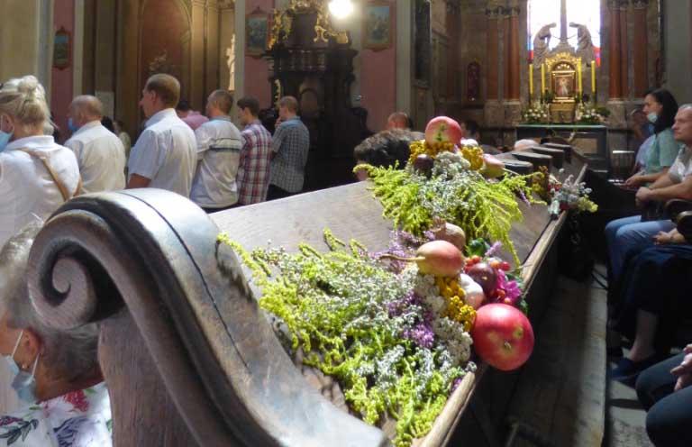 Uroczystość Wniebowzięcia Najświętszej Marii Panny w katedrze lwowskiej
