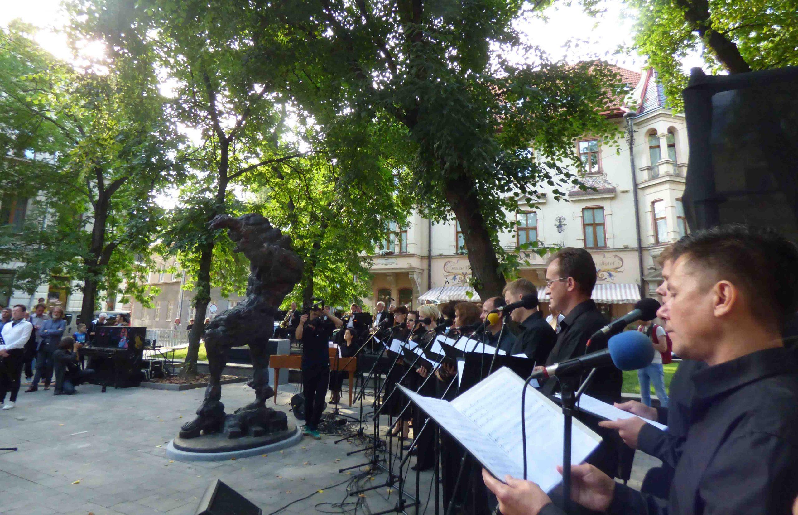 """Pomnik """"lwowskiego Mozarta"""""""